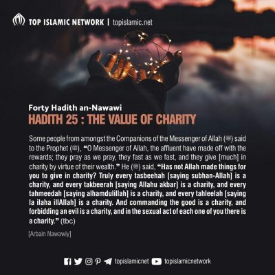 charity not about money