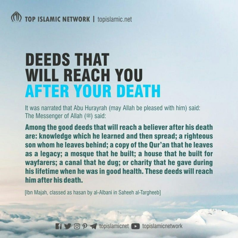 deeds after death