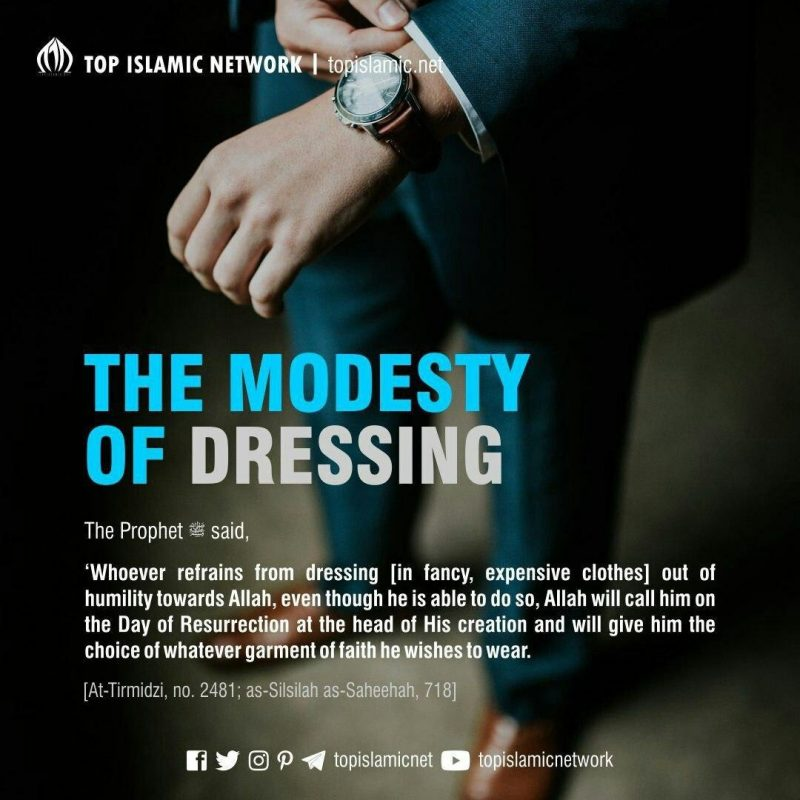 modesty in dressing