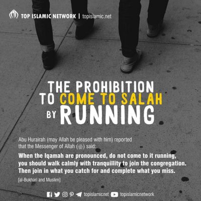 Come to Salah by Running