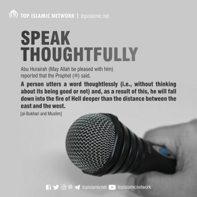 Speak Thoughtfully