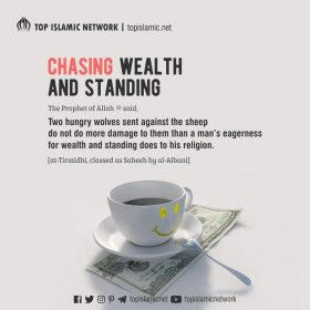 chasing wealth and dignity