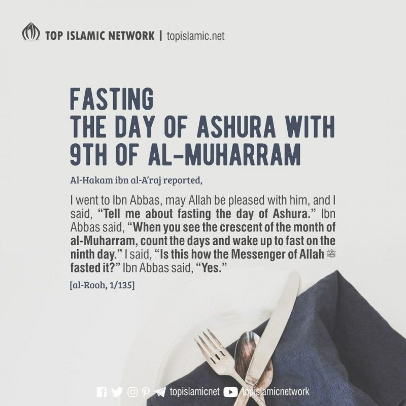 fasting 9th muharram