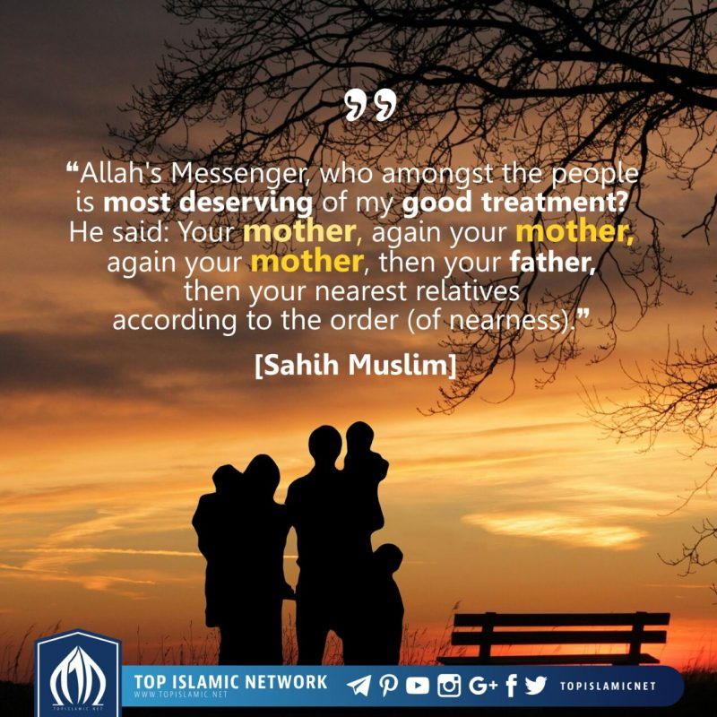 be kind to your mother
