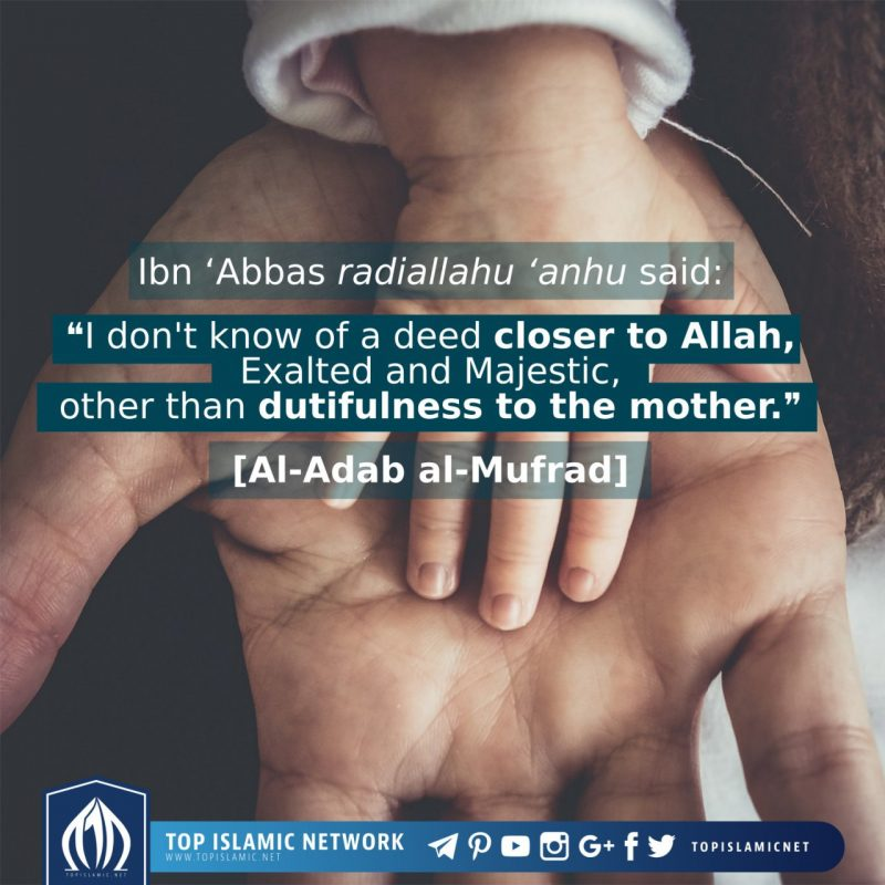 Dutifulness to The Mother