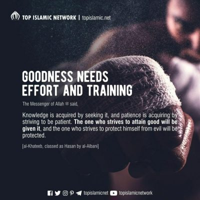 goodness need training