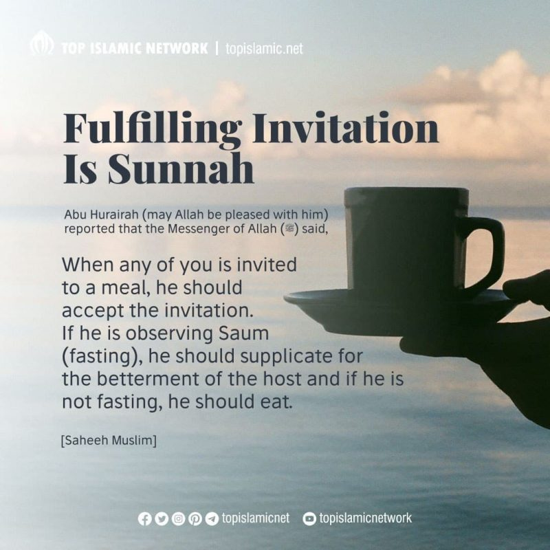 Fulfilling Invitation